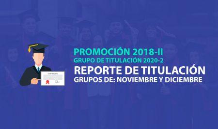REPORTE DE TITULACIÓN 2020-2
